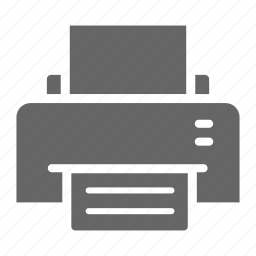 business, office, printer, workroom icon