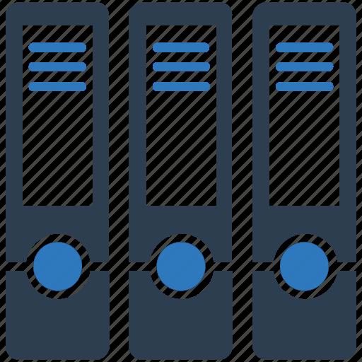 cabinet, document folders, file folder, office icon