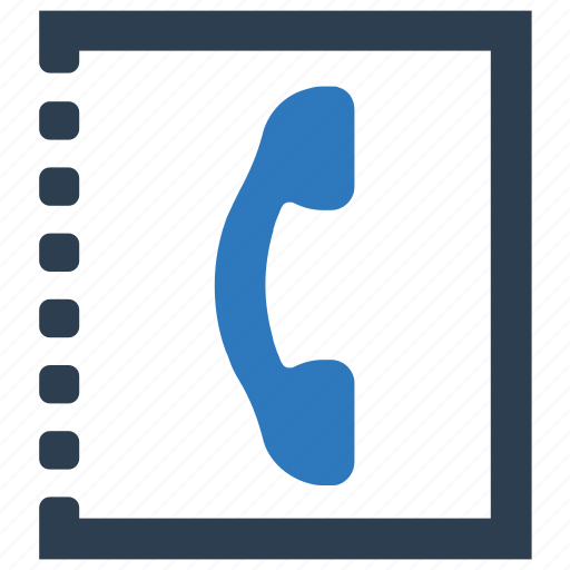 contact, doodle, numbers, phone, phone book icon