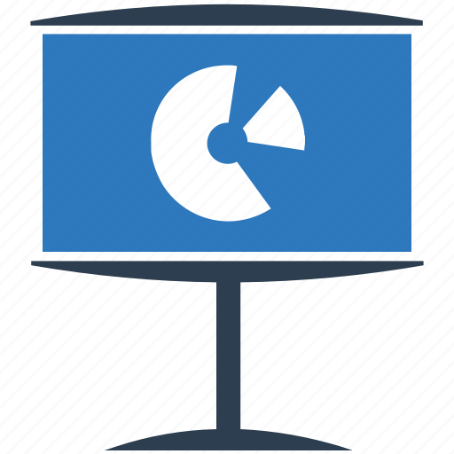 pie chart, presentation, report, sales, statistic icon