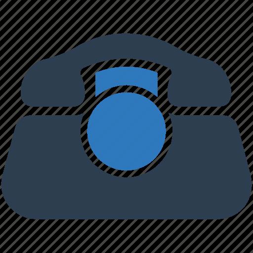 call, landline, office, old phone, telephone icon