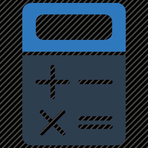 accounting, calculator, math, mathematics, office icon