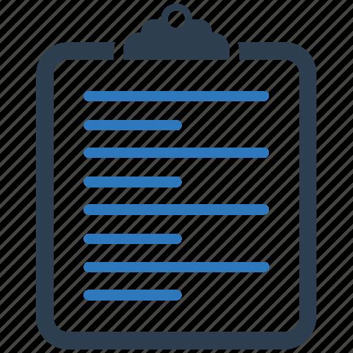 content, document, file, paper icon