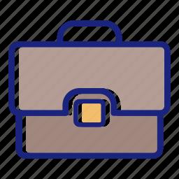 briefcase, business, fine briefcase, new briefcase, office, office briefcase, suit case icon