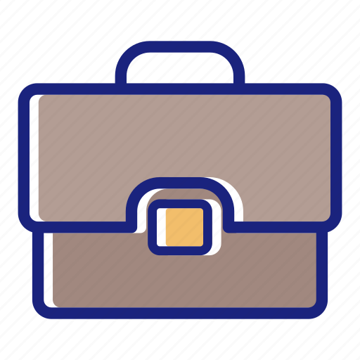 briefcase, business, fine briefcase, new briefcase, office, office briefcase, suit case icon