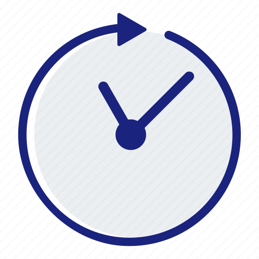business, clock, finance, management, marketing, office, time icon