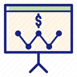 analytics, business, business strategy, finance, money, office, presentation icon