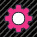 cog, control, option, setting icon icon