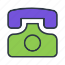 call, contact, phone, telephone icon icon