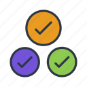 check, good, mark, ok icon icon