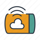 cloud, internet, signal, technolory icon icon