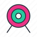arrow, marketing, sport, target icon icon