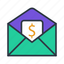 at, email, envelope, mail, send, sign icon icon