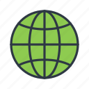 globe, internet, web, world icon icon
