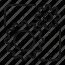 cog, configuration, setting, setting wheel icon