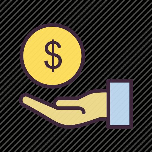 estate, loan, money icon
