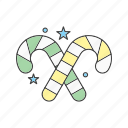 candy, christmas, sweet, toffee icon