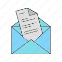 bubble, email, letter, mail, message icon