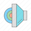 sound, speaker icon