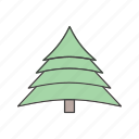 christmas, decoration, tree icon