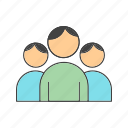 avatar, man, user, users icon