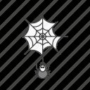 danger, spider, web icon