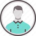 person, avatar, user, man, profile, businessman