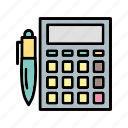 accounting, b036, calculate, calculation, calculator, math, mathematics icon