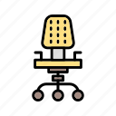 b038, business, chair, desk, desk chair, furniture, office icon