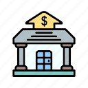 b058, bank, business, cash, dollar, finance, payment icon