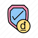 antivirus, b080, firewall, guard, insurance, lock, shield icon
