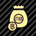 b082, bag, cash, currency, dollar, money, money bag icon