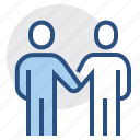 agreement, business, commitment, deal, guarantee, handshake, pact icon