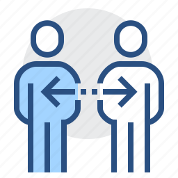 collaboration, communication, connection, connections, interaction, people icon
