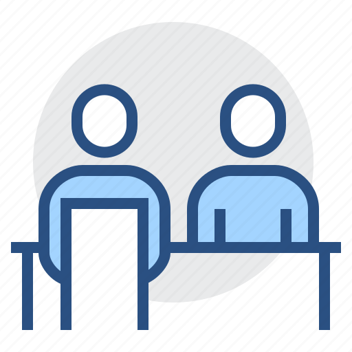 business, conversation, dialogue, discussion, meeting, one-on-one, talk icon