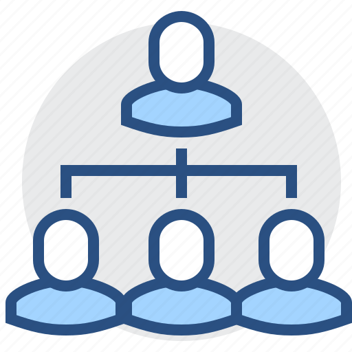 group, people, structure, subordination, users icon