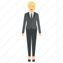 blond hair woman, business woman avatar, confident professional woman, female business secretary, young business woman icon