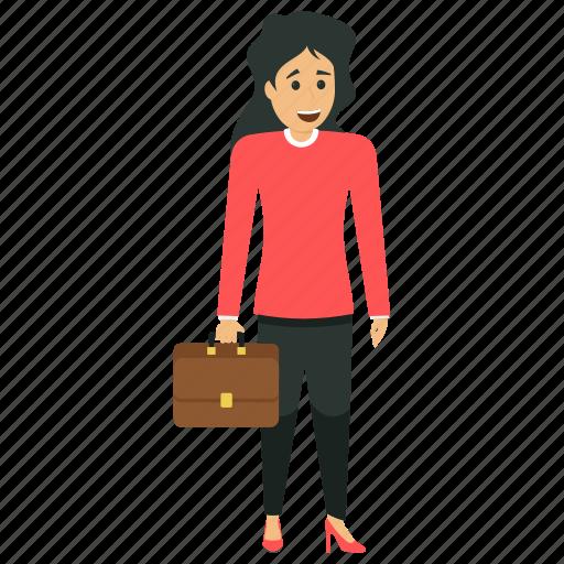 female capitalist, female entrepreneur, female manager, modern business woman, woman industrialist icon