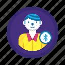 bluetooth, bluetooth transfer icon