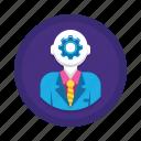 brain, brain power, power, productivity, smart icon
