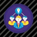 brainstorm, brainstorming, idea, thinking icon