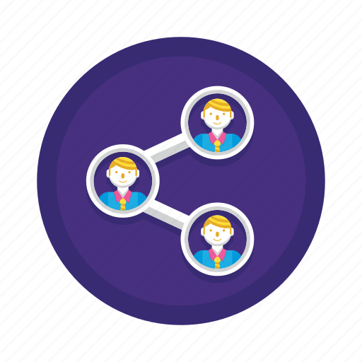 Connections, connection, network, share, social icon - Download on Iconfinder