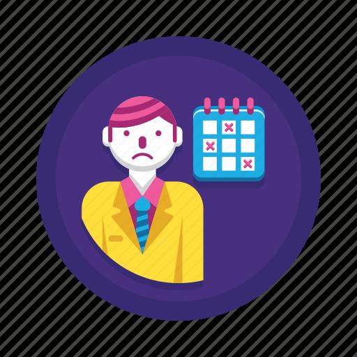 Deadline, calendar, overdue, schedule, timeline icon - Download on Iconfinder