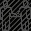 agreement, business, handshake, partnership, people, shake icon