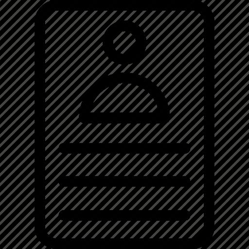 biodata, cv, job application, job profile, resume icon icon