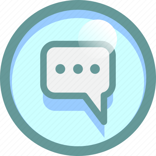 Chat, cloud, conversation, message, typing icon - Download on Iconfinder