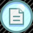 document, file, list, schedule icon