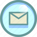 letter, mail, message, read