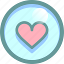 favorite, heart, love, mark icon