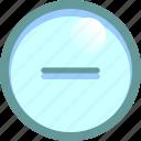dash, delete, expand, minus icon